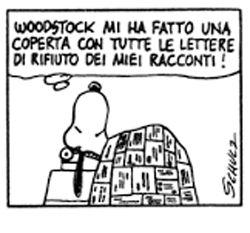 Le lezioni di Scrittura di Snoopy   »   Lettere di rifiuto #scrittura #snoopy