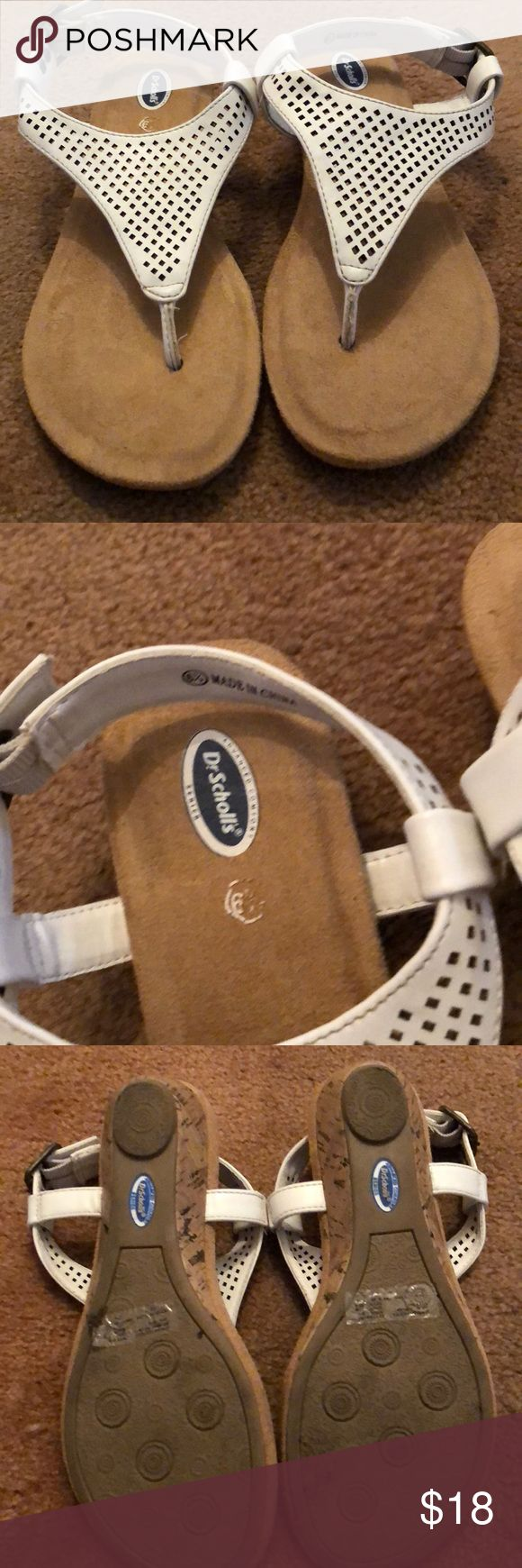 Dr. Scholls sandals Worn once! Dr. Scholl's Shoes Sandals