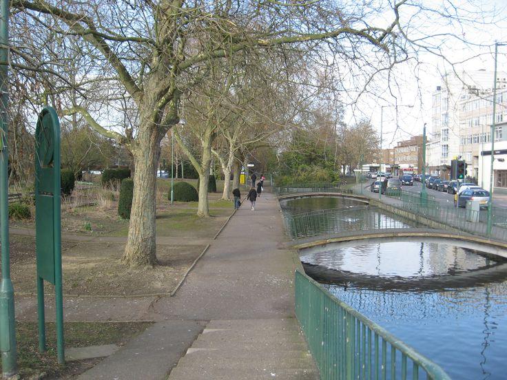 Hemel Hempstead - Water Gardens