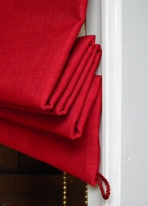 Details of fabric thermal roman blinds to save energy | The Thermal Blind Co.