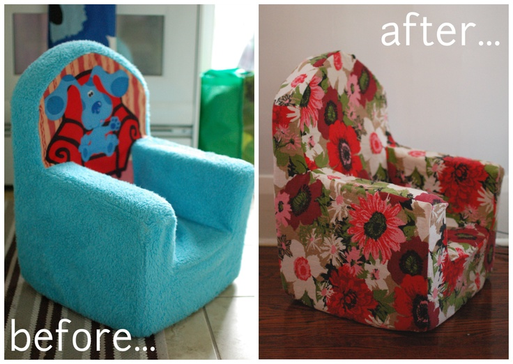 mint in the middle: toddler armchair makeover  diy instructions on how to slipcover a disney armchair