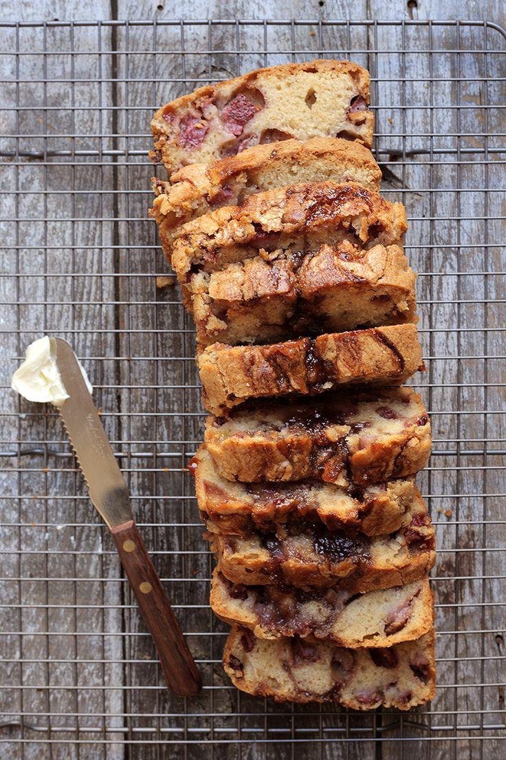 Strawberry Loaf Bread Recipe - Saveur.com