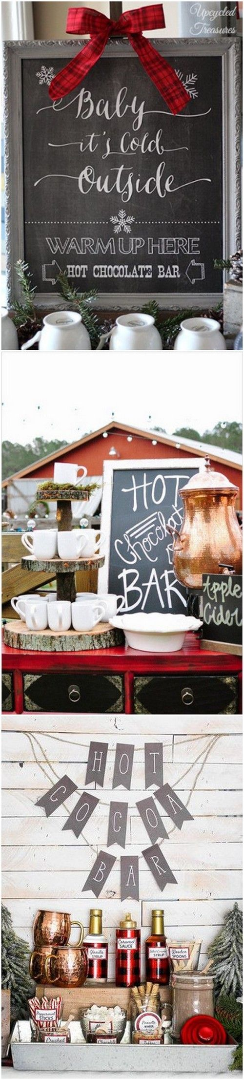 winter wedding bar ideas to warm guests