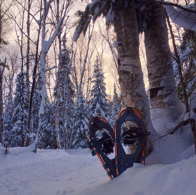 Grab your snowshoes and get outside! #DiscoverON