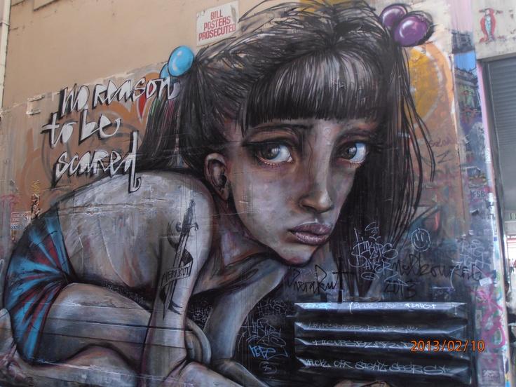 Graffiti Melbourne style.