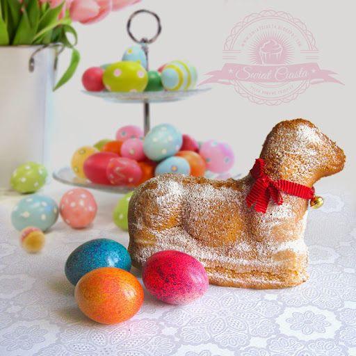 Wielkanocny baranek   Świat Ciasta