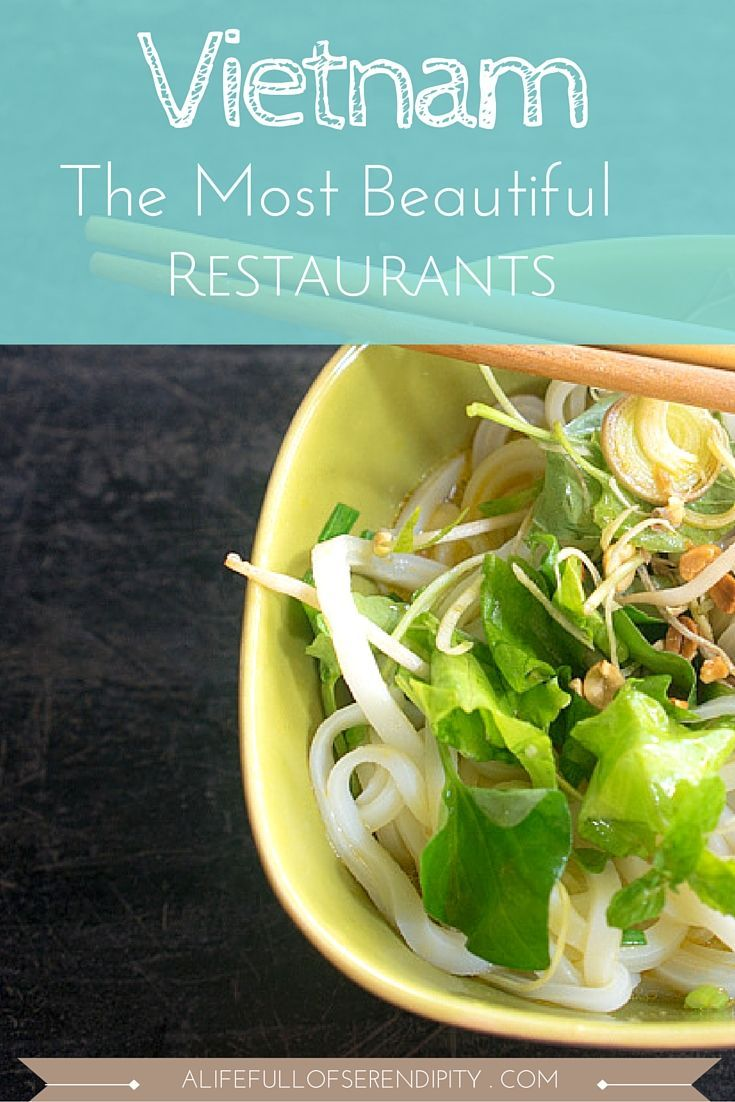The Most Beautiful Restaurants in Vietnam including suggestions on what to order. These were the most beautiful restaurants & cafes I have been to during my time in Vietnam. The food was out of this world too! Highly recommended!
