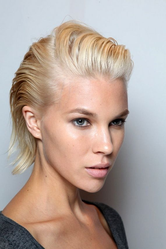 44 best Slicked Back images on Pinterest | Hairdos, Wet hair and Hair makeup