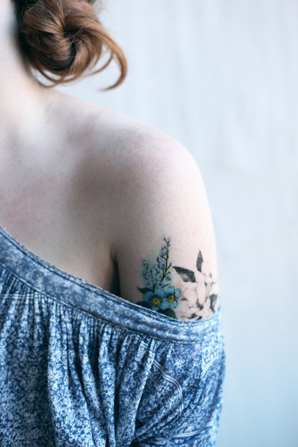 257 best images about flower tattoos on calf
