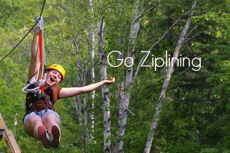 Bucket List    Go ziplining