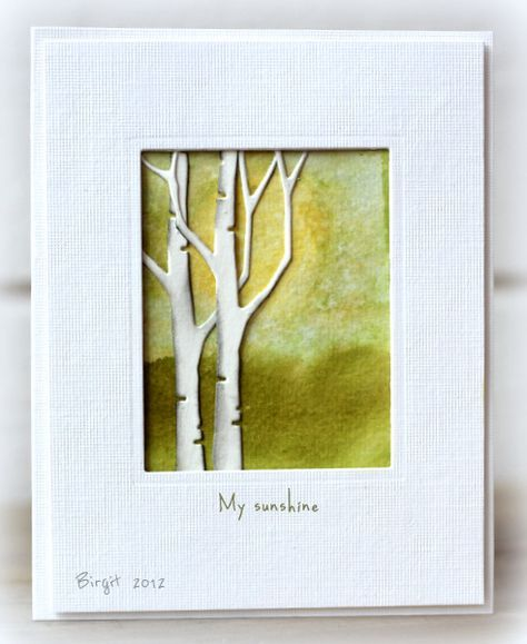 distressed ink cards