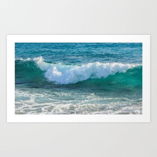 The Sea, Awesome Wave, Gallery quality Giclée print on natural white, matte, ultra smooth, 100% cotton rag