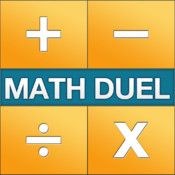 Math Duel - Two Player Split Screen Mathematical Game for Kids and Adult Brain Training - Addition, Subtraction, Multiplication and Division...