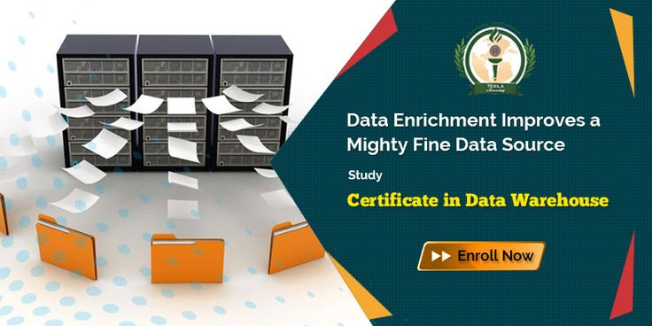 Data Enrichment Improves a Mighty Fine Data Source Get Certificate in Data Warehouse @ https://goo.gl/hEhIza #DataWarehousing #DataWarehousingcourses