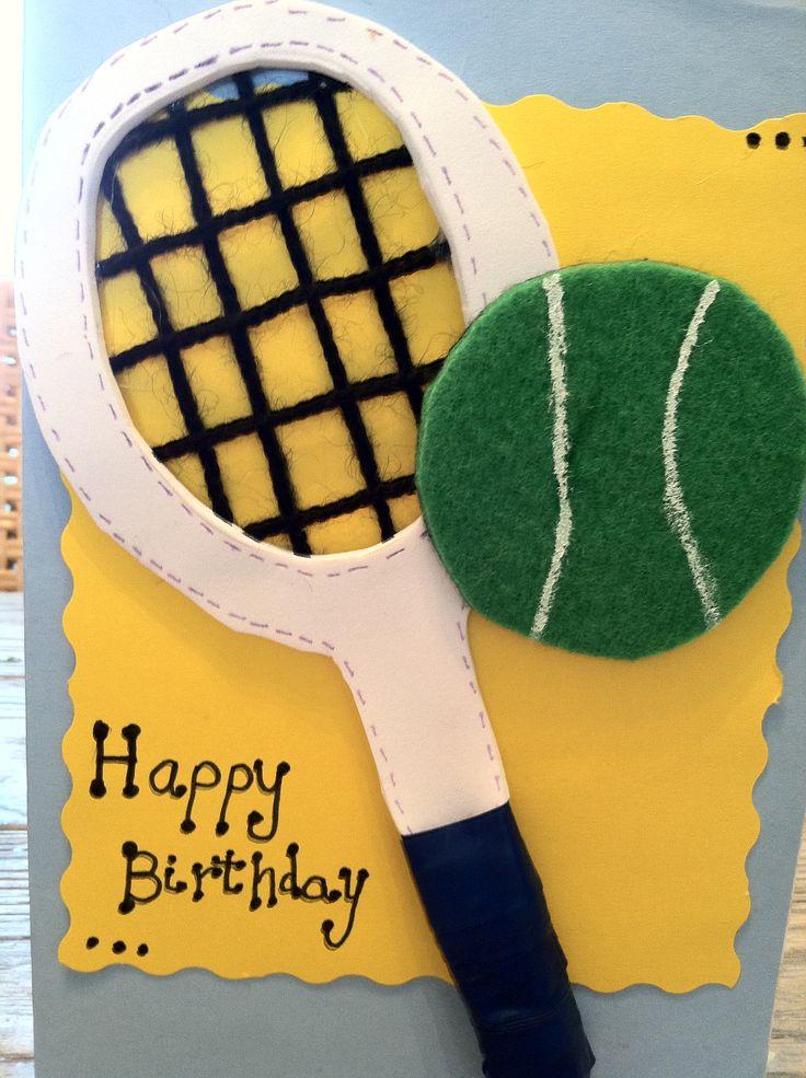 Открытки, открытка теннис