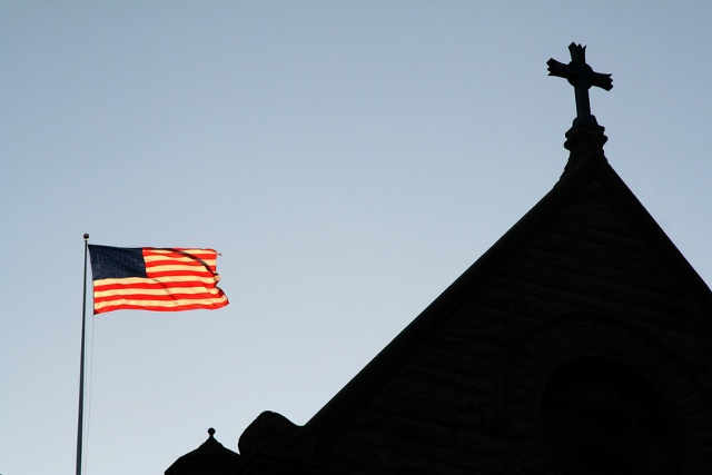 Is separation of church and state an idea to keep religious people out of the public arena? (Credit: surpasspro via fotolia.com)