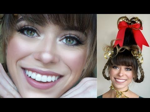 Cindy Lou Who Makeup Tutorial - YouTube