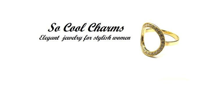 14K Solid Gold Ring, Round Open Circle Ring w Clear or Black Cubic zirconia, round Gold Ring