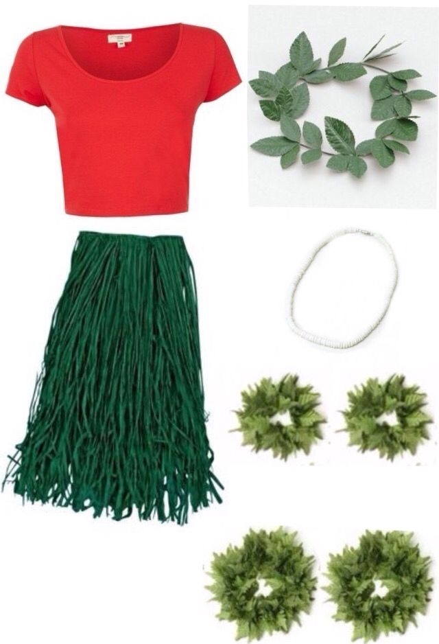 Image result for womens lilo costume                                                                                                                                                                                 Más