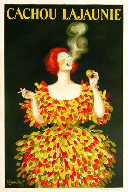 Cappiello, Leonetto poster: Cachou Lajaunie
