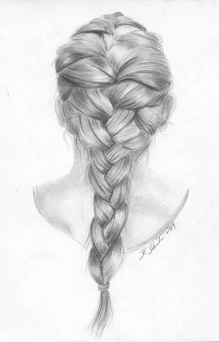 braids styles with hair best 25 drawing hairstyles ideas on anime 4362