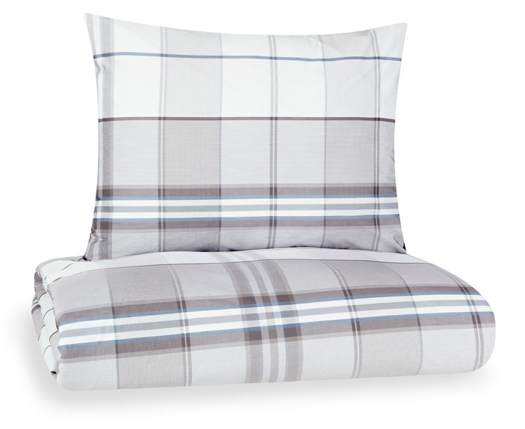 J.F. by Finlayson Wilhelm percale bed linen set I Wilhelm-percalepussilakanasetti 110 €