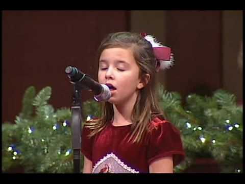 Mattie Corbin Solo with the Children's Choir. First Baptist Panama City