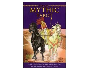 Mythic Tarot - This tarot deck depicts the gods, goddess, heroes, heroins of Greek mythology.  The deck is simplistic in its design and is therefore great for beginners.    This deck was first published in 1989 and is a great favourite amongst all of us. Its newest form has had the illustrations updated in line with modern day.