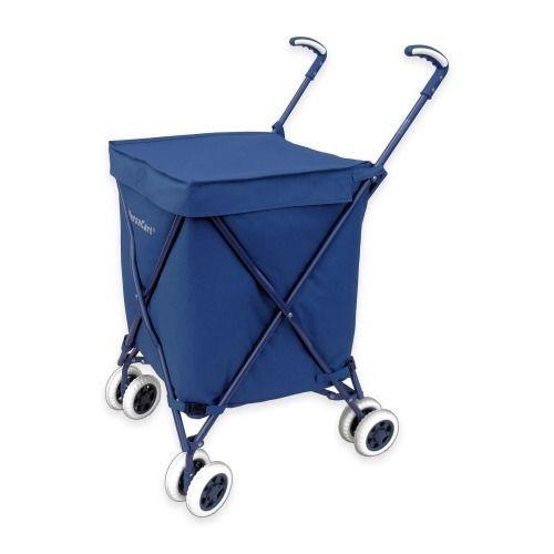 Versacart Grocery Shopping Folding Cart On Wheels Foldable Rolling Utility Laund #VersaCart