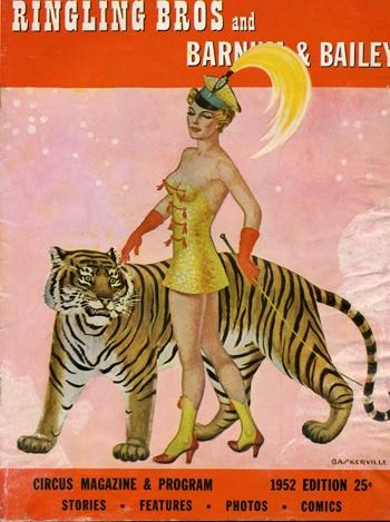 vintage circus program -- @Cindy Johnson ... we need a liger.