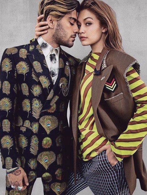 Популярная американская модель Джиджи Хадид и её парень, музыкант Зейн Малик, были представлены на обложке журнала Vogue как пара гендерфлюидов — людей, которые ощущают себя то мужчиной, то женщиной.