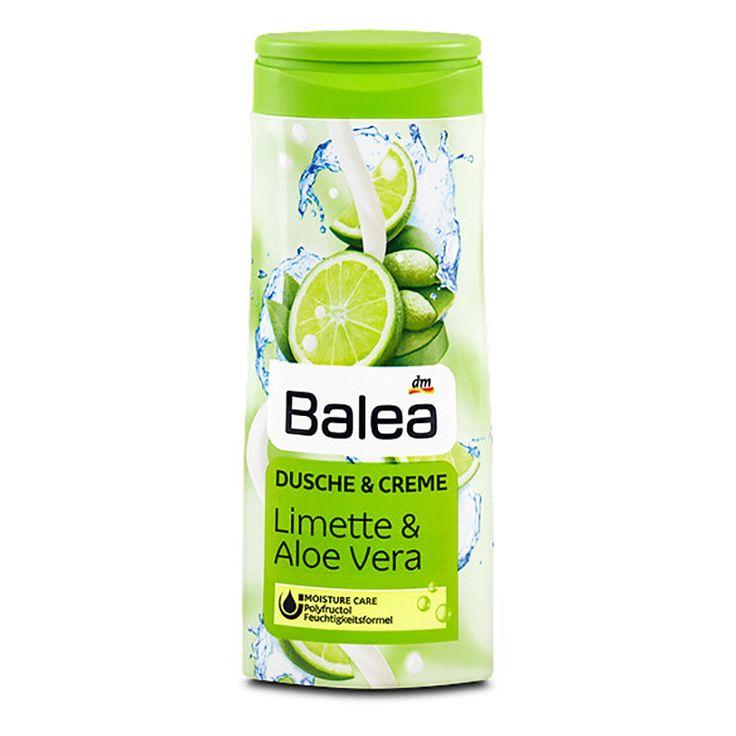 Balea Shower Cream Gel Lime & Aloe Vera 300 ml   BG Choco Shop