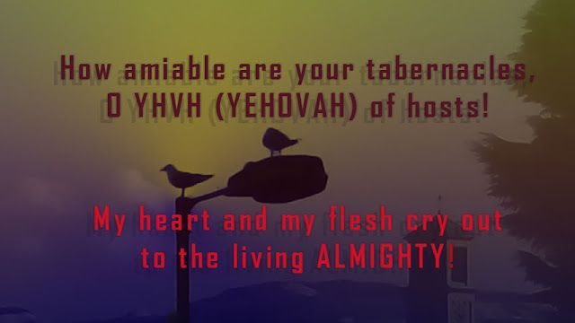 YHVH (YEHOVAH) Padre: YHVH (YEHOVAH) my soul longs for You !!