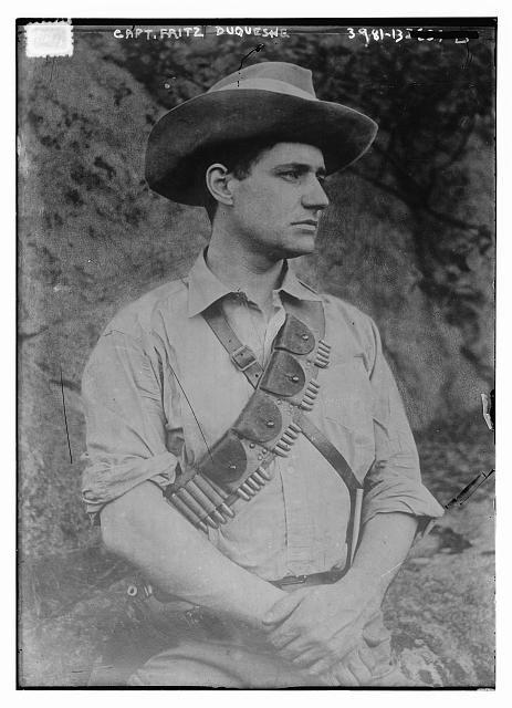 Fritz Joubert Duquesne - Boere kryger in die Anglo-boere oorlog.https://grahamwatkinsauthor.wordpress.com/2015/03/13/a-white-mans-war-coming-soon/
