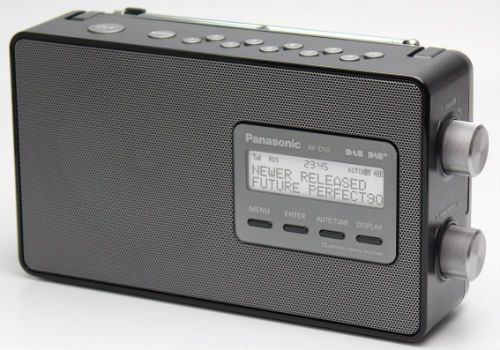 Panasonic RFD10EBK Portable DAB Radio RFD10EBK PANASONIC RFD10EBK Portable DAB Radio: This RFD10EBK portable DAB radio from Panasonic has an impressive 33 hour battery life for extensive listening on the go, in addition to various convenient featu http://www.MightGet.com/february-2017-1/panasonic-rfd10ebk-portable-dab-radio-rfd10ebk.asp