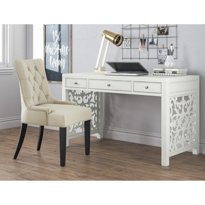 Kelly Clarkson Home Lucille Desk Wayfair Ca In 2021 Dining Room Chairs Upholstered Dining Room Chairs Modern Side Chairs Dining