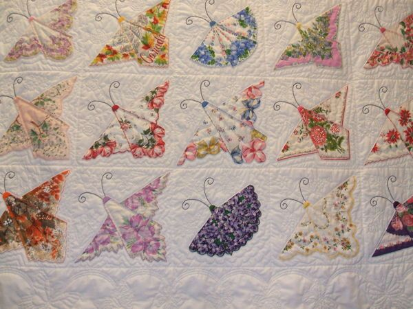 325 best Vintage handkerchief sewing projects images on Pinterest ... : handkerchief quilts instructions - Adamdwight.com