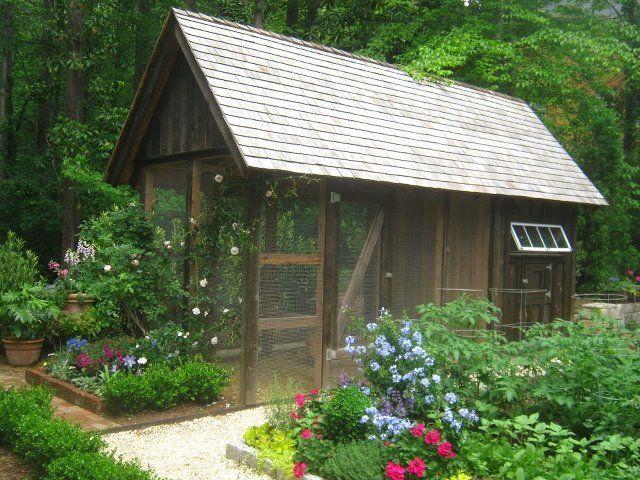 Etonnant Chicken Coop + Garden | Garden Sheds U0026amp; Chicken Coops | Pinterest