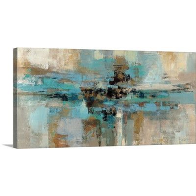 Great Big Canvas 'Morning Fjord' by Silvia Vassileva Painting Print on Wrapped Canvas & Reviews | Wayfair