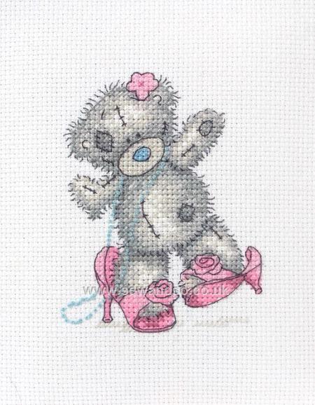 Dress Up Cross Stitch Kit online at sewandso.co.uk