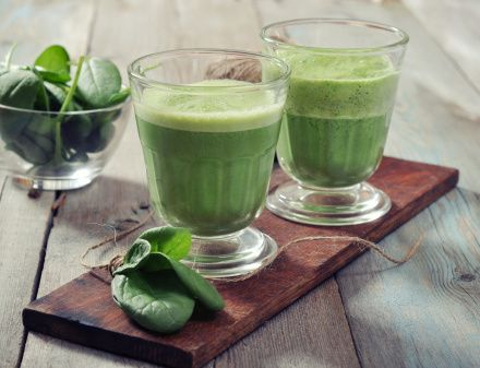 Lean and Green Protein Smoothie.
