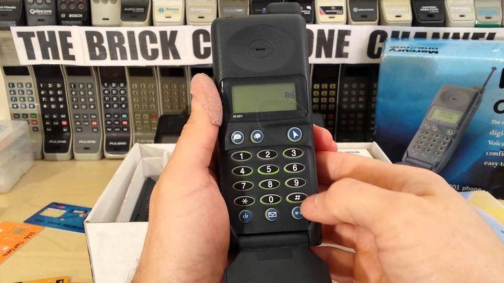 Motorola Microtac M301 One2One vintage flip phone