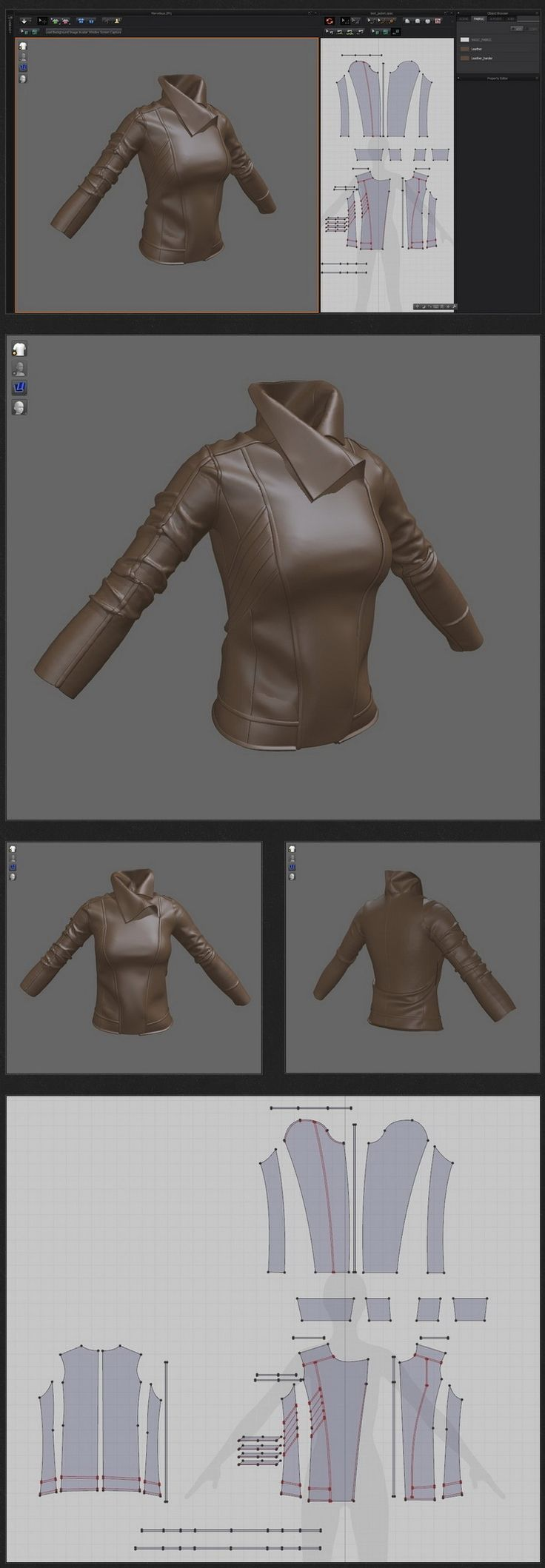 Clothing WIP use Marvelous Desigher