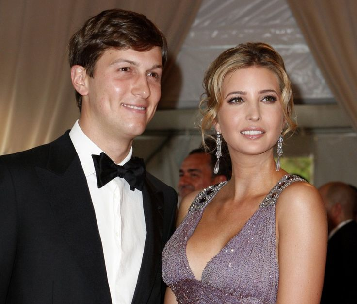 Donald Trump's Jewish daughter, Ivanka. She converted to Judaism before she married.