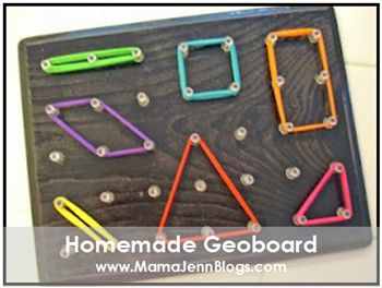 Geoboard: Homemade Christmas Gifts | The Happy Housewife™ :: Home Management