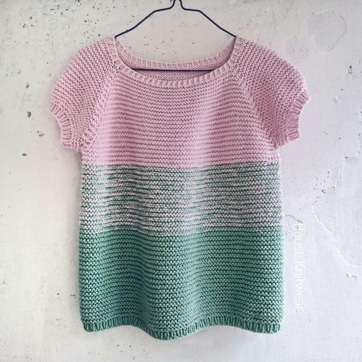Свитер вязаный,  свитер платочной вязкой,  женский свитер