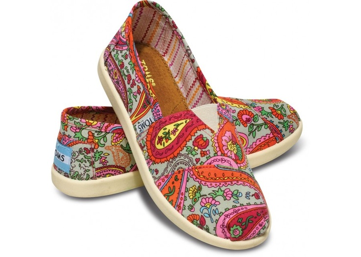 Eeep! : Paisley Toms Flats, Paisley Toms I, Shoes Online, Cute Shoes, Clothing, Shoes Toms, Cheap Shoes, Toms Shoes, Toms For Girls