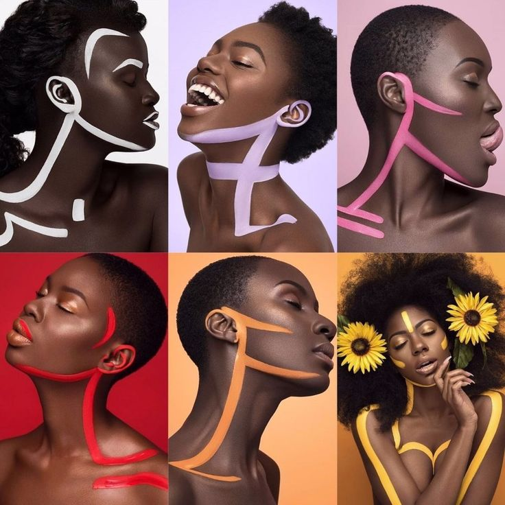 """Moshoodat Sanni, a 24-year-old make up artist, has created a wonderful photoset showcasing black beauty. Sanni told BuzzFeed News """"We [black women] are all beautiful in our own forms: This project is a representation of personal beauty."""" 