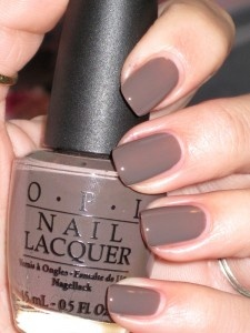 Strangely the only nail polish color I wear. It's my very favorite color!