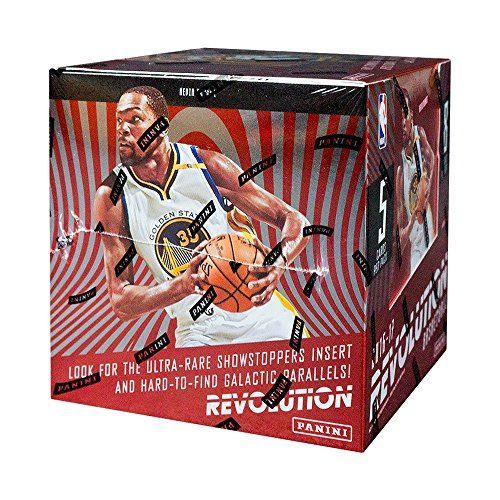 8 Packs per Box. 5 Cards per Pack. * - 4 rookies, 4 inserts, 8 parallels, 1 parallel will be sequentially #'d to 100 or less. * Revolution features the most vibrant trading cards in the hobby! * On average, find four inserts per box! Look for the debut of Revolutionaries, By the Numbers and Star-Gazing, and the return of the ultra-rare Showstoppers! * (Placed within the Amazon Associates program) * 15:49 Mar 7 2017